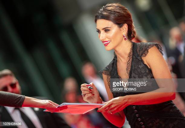 TOPSHOT Penélope Cruz attends the premiere of 'Everybody Knows' at the Toronto International Film Festival in Toronto Ontario September 8 2018