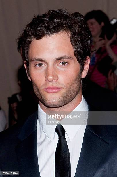 Penn Badgley attends 'American Woman Fashioning A National Identity' Costume Institute Gala at The Metropolitan Museum of Art in New York City