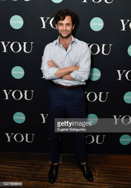 Penn Badgley attends the Screening Of Lifetime's You Series Premiere on September 5 2018 in New York City
