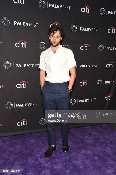 Penn Badgley from 'YOU' attends The Paley Center for Media's 2018 PaleyFest Fall TV Previews Lifetime at The Paley Center for Media on September 9...