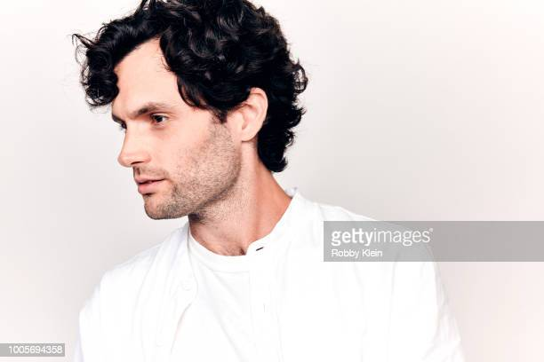Penn Badgley of Lifetime's 'You' poses for a portrait during the 2018 Summer Television Critics Association Press Tour at The Beverly Hilton Hotel on...