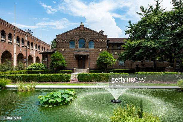penn garden - university of pennsylvania stock photos and pictures