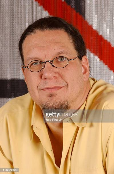 Penn Jillette at his home in Las Vegas Nevada which has a prison theme throughout his compound