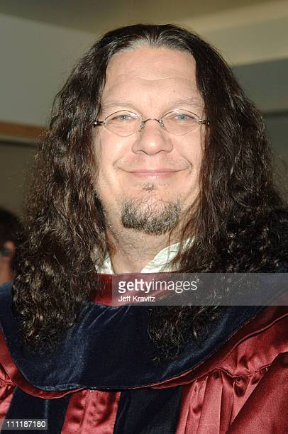 Penn Jillette during 2006 VH1 Rock Honors Backstage and Audience at Mandalay Bay Hotel and Casino in Las Vegas Nevada United States