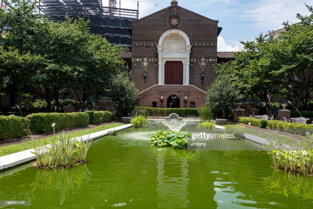 Penn Museum Garden : Stock Photo