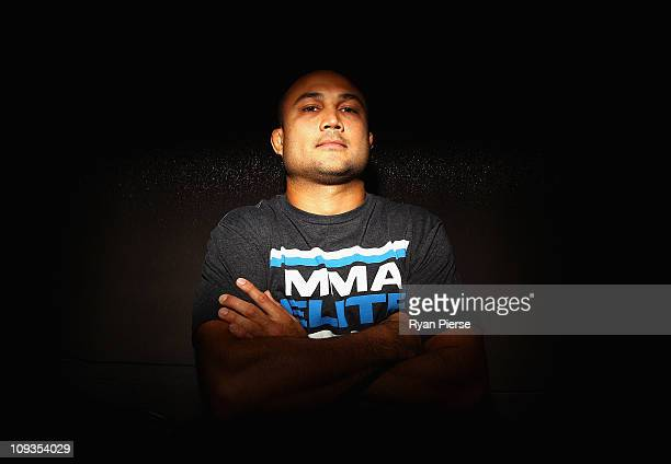 Penn of the USA poses during a Press Conference ahead of UFC 127 at Star City on February 23, 2011 in Sydney, Australia.