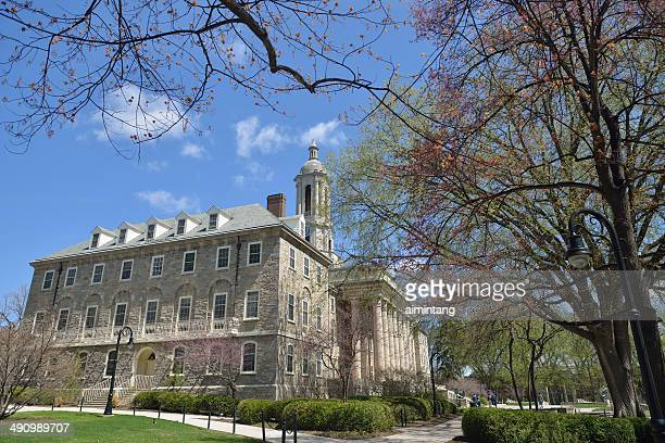 penn state campus with old main - state college pennsylvania stock pictures, royalty-free photos & images