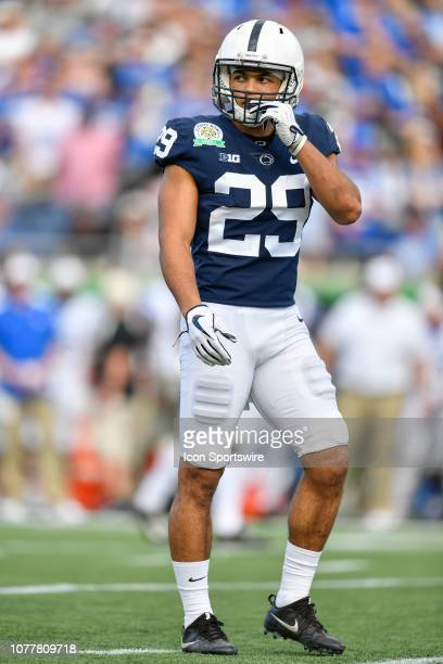 Penn State cornerback John Reid during the second half of the Citrus Bowl between the Kentucky Wildcats and the Penn State Nittany Lions on January...