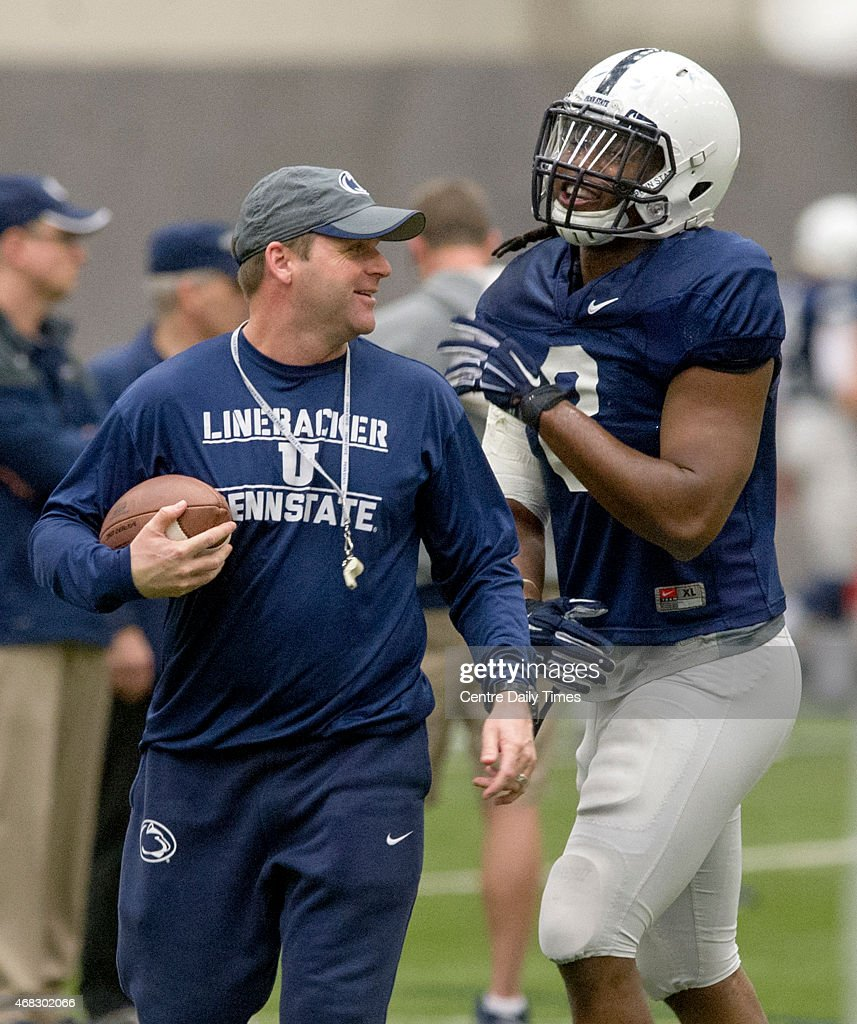 Penn State spring football practice : News Photo