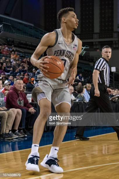 Penn State Nittany Lions guard Myreon Jones during the college basketball game between the Penn State Nittany Lions and North Carolina State Wolfpack...