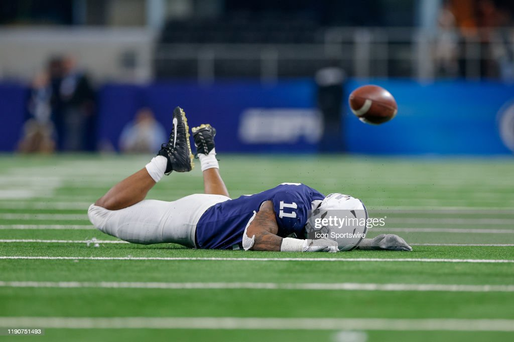 COLLEGE FOOTBALL: DEC 28 Cotton Bowl Classic - Memphis v Penn State : News Photo
