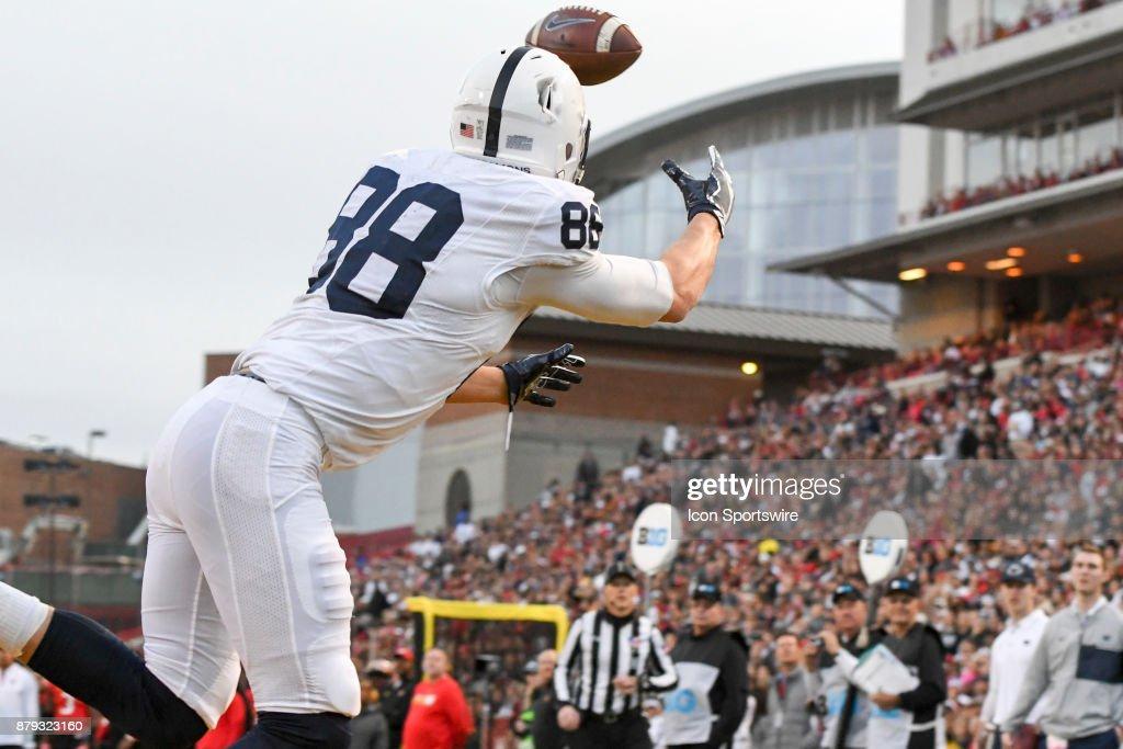 COLLEGE FOOTBALL: NOV 25 Penn State at Maryland : News Photo