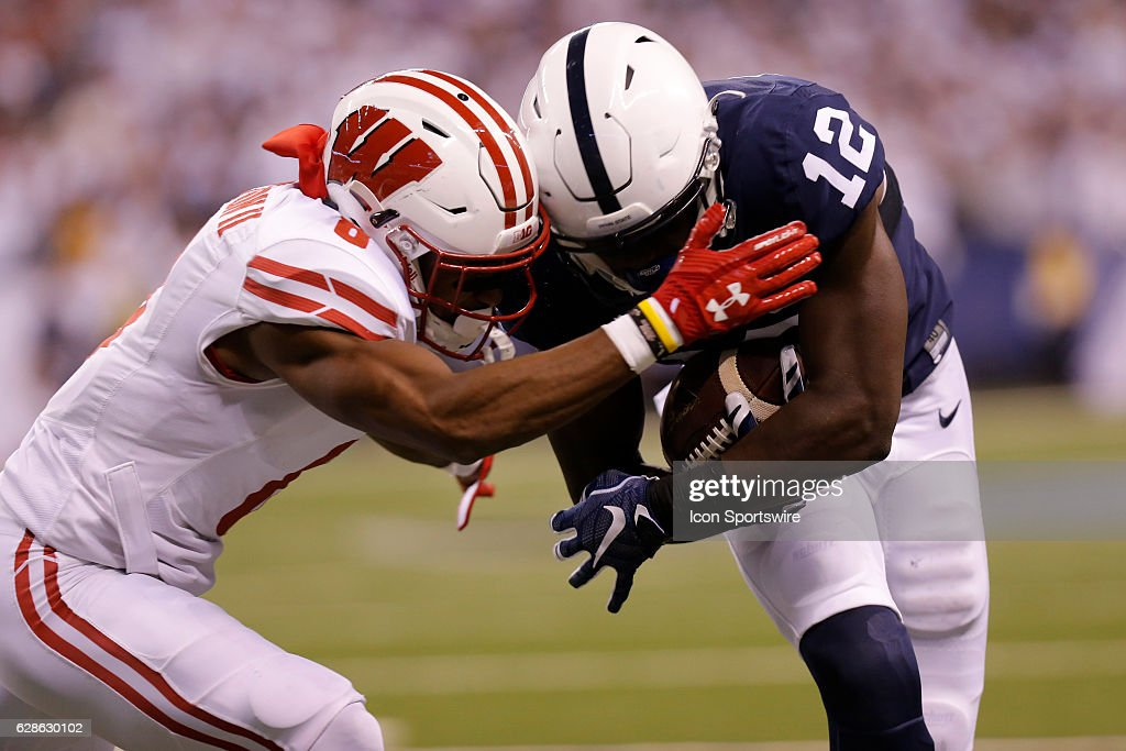 NCAA FOOTBALL: DEC 03 Big Ten Championship Game - Wisconsin v Penn State : News Photo