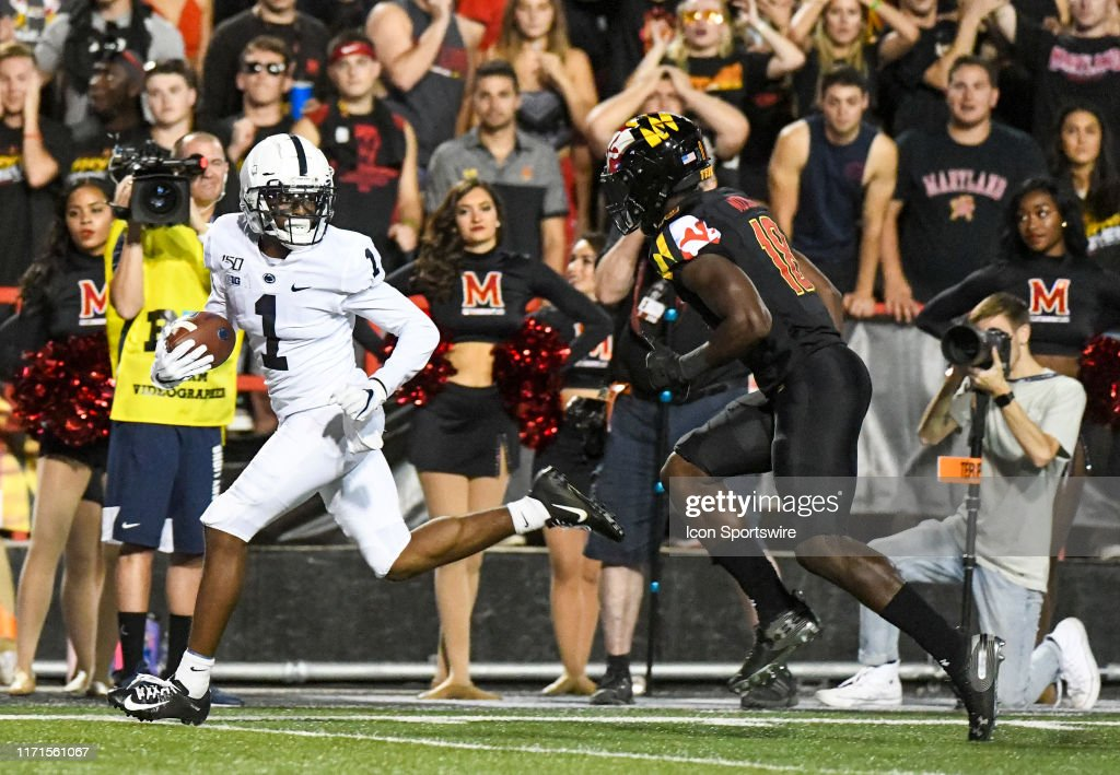 COLLEGE FOOTBALL: SEP 27 Penn State at Maryland : News Photo