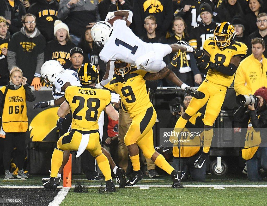 COLLEGE FOOTBALL: OCT 12 Penn State at Iowa : News Photo
