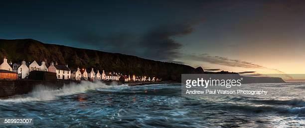 pennan, scotland - モーレイ湾 ストックフォトと画像