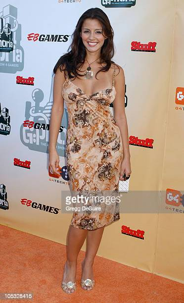 Pennelope Jimenez during GPhoria The Award Show 4 Gamers at Shrine Auditorium in Los Angeles California United States