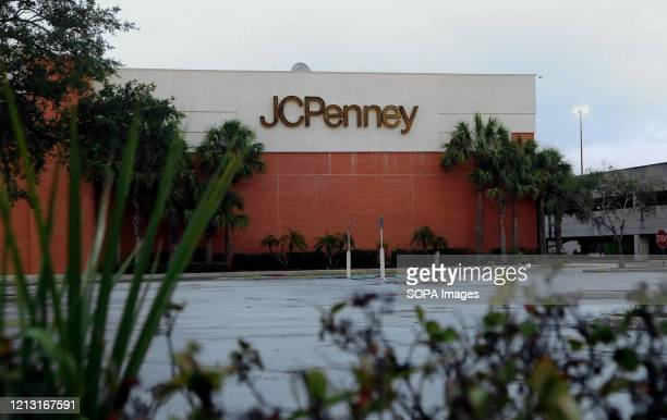 Penney store that was temporarily closed due to the COVID-19 pandemic is seen on the day the company filed for bankruptcy protection and announced it...