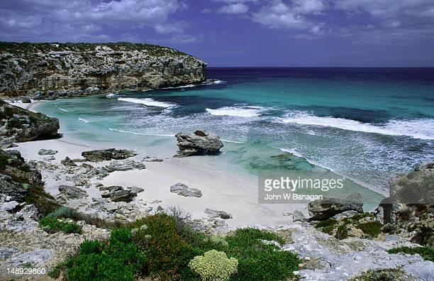 Pennington Bay on Kangaroo Island, off the coast of South Australia