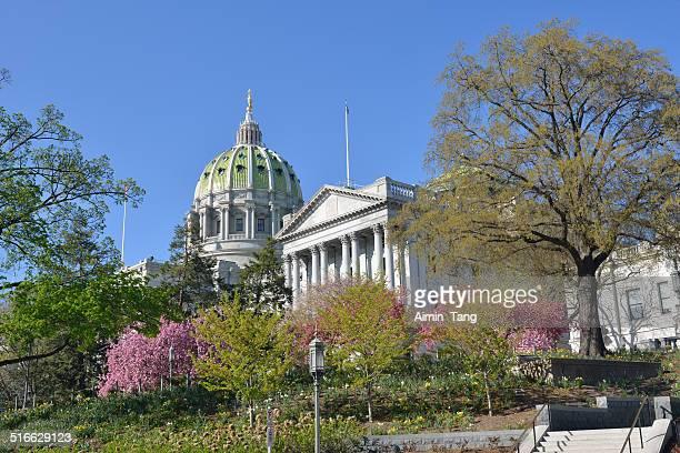 pennsylvania capitol - harrisburg pennsylvania stock pictures, royalty-free photos & images