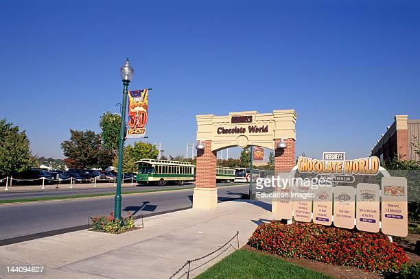 Pennsylvania Hershey Chocolate World Amusement Park