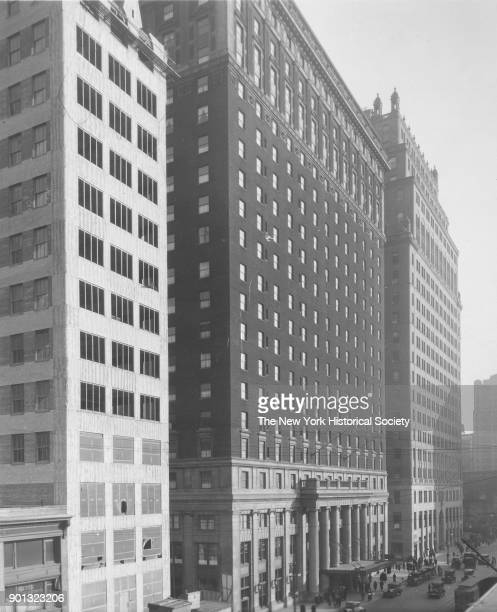 Pennsylvania Hotel New York New York April 1926 Hotel opposite Penn Station 7th Avenue and 32nd Street