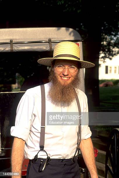 Pennsylvania Intercourse Portrait Of An Amish Man