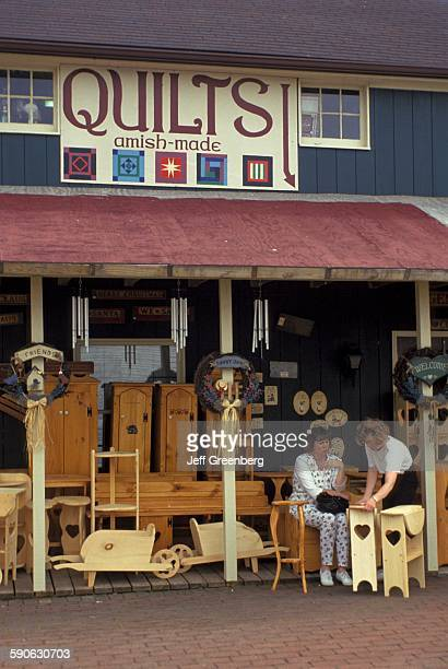 Amish Craft Centers : Amish woman stock photos and pictures getty images