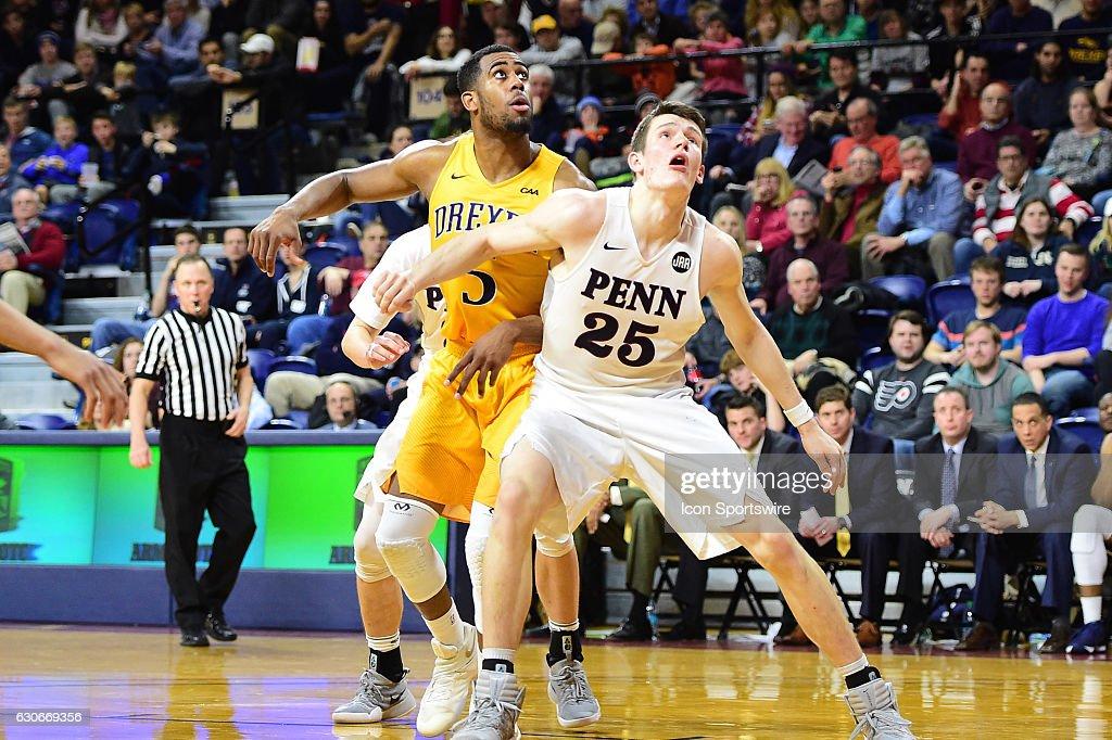 NCAA BASKETBALL: DEC 28 Drexel at Penn : News Photo