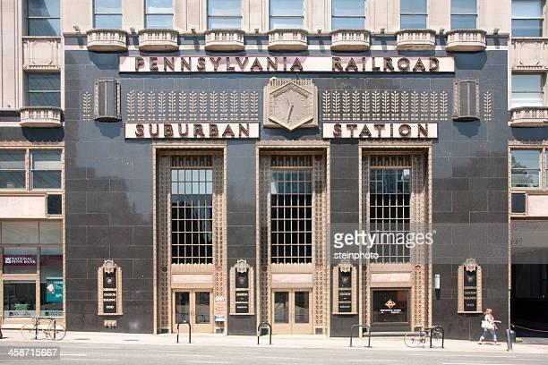 Pennsylvania Railroad Suburban Bahnhof Philadelphia