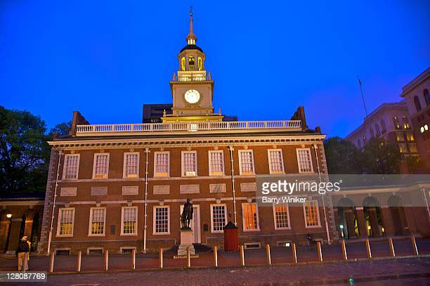 Pennsylvania State House, now called Independence Hall, Independence National Historical Park, Philadelphia, Pennsylvania