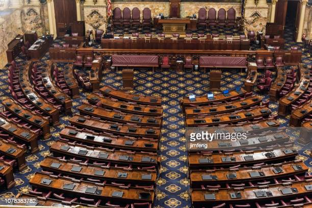 pennsylvania state house of representatives chamber - house of representatives stock pictures, royalty-free photos & images