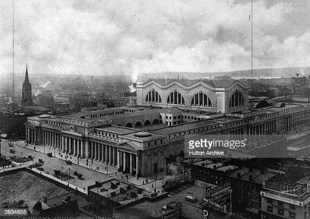 Pennsylvania Station and Avenue in New York modelled on the Baths of Coracalla It was demolished in 1966