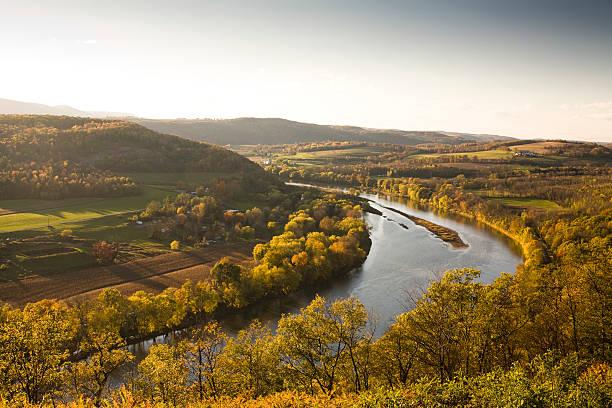 Pennsylvania valley in autumn