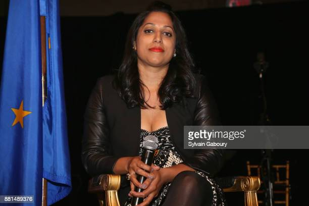Penny Abeywardena attends French American Foundation Annual Gala 2017 at Gotham Hall on November 28 2017 in New York City
