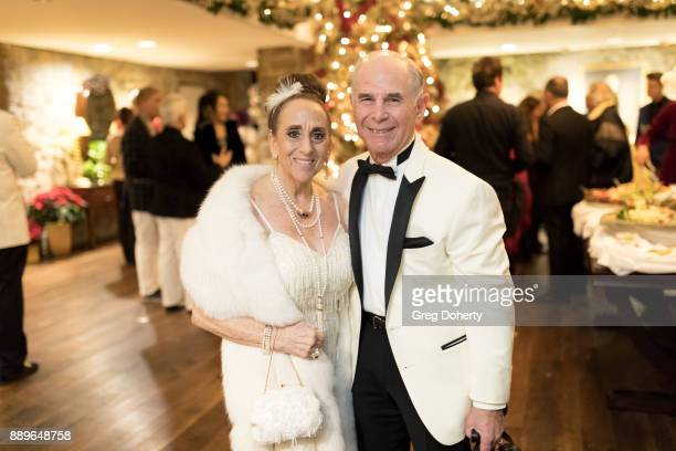 Penny and Jamie Ritter attend The Thalians Hollywood for Mental Health Holiday Party 2017 at the Bel Air Country Club on December 09 2017 in Bel Air...