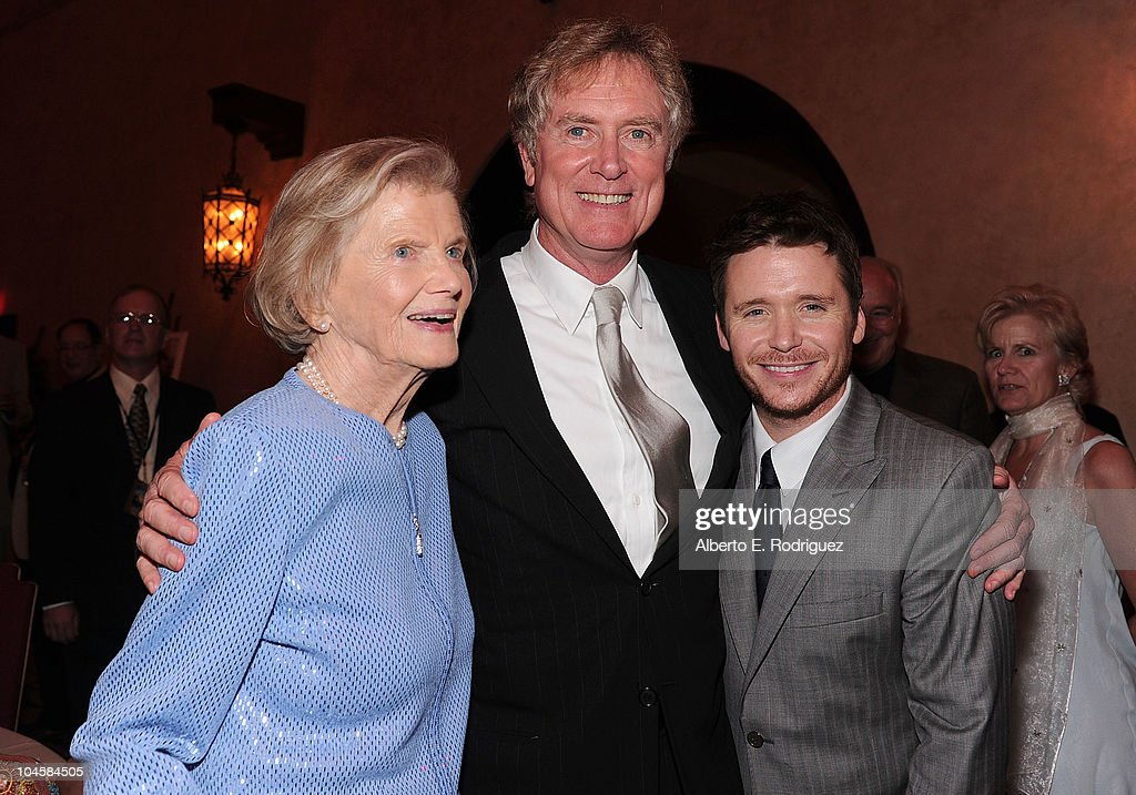 Penny Chenery, director Randall Wallace, and actor Kevin Connolly attend the premiere of Walt Disney Pictures' 'Secretariat' after party at the on September 30, 2010 in Hollywood, California.