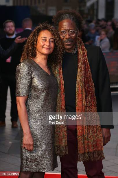 Penny Clarke and Clarke Peters attend the UK Premiere of 'Three Billboards Outside Ebbing Missouri' at the closing night gala of the 61st BFI London...