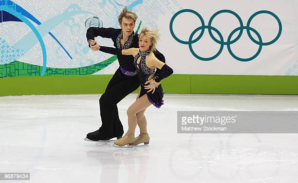 Penny Coomes and Nicholas Buckland of Great Britain compete in the Figure Skating Compulsory Ice Dance on day 8 of the Vancouver 2010 Winter Olympics...