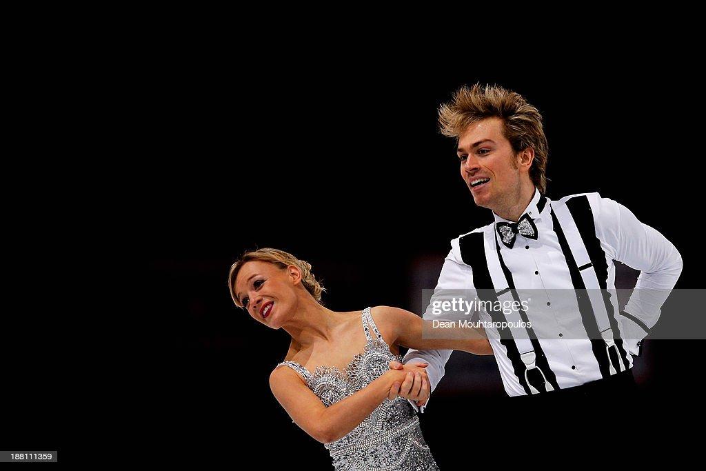 Trophee Eric Bompard ISU Grand Prix of Figure Skating 2013/2014 - Day 1