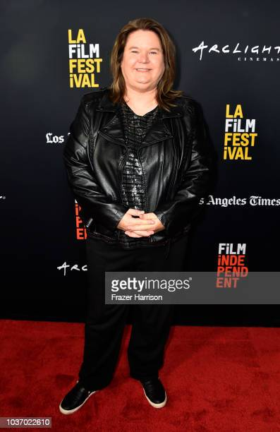 Penny Edmiston attends the 2018 LA Film Festival Opening Night Premiere Of 'Echo In The Canyon' at John Anson Ford Amphitheatre on September 20 2018...