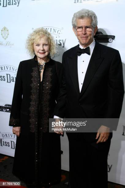 """Penny Fuller and Tony Roberts attend Broadway Premiere of """"DRIVING MISS DAISY"""" at Golden Theatre on October 25, 2010 in New York City."""