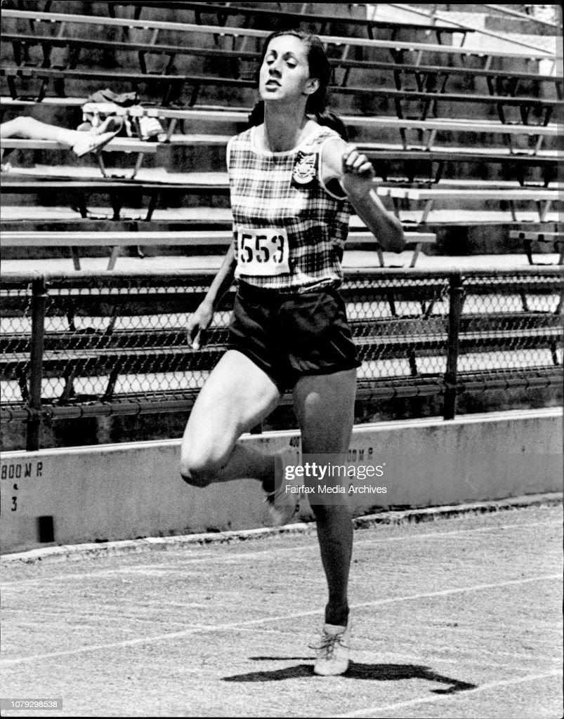 Penny Gillies (Nee McCallum) - Athlete - Personality. : News Photo