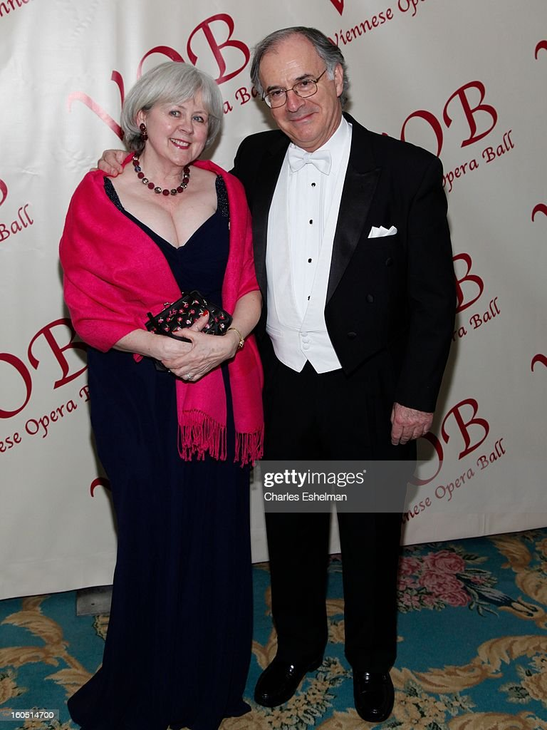 Penny Gillinson and Clive Gillinson attend The 58th Annual Viennese Opera Ball at The Waldorf=Astoria on February 1, 2013 in New York City.
