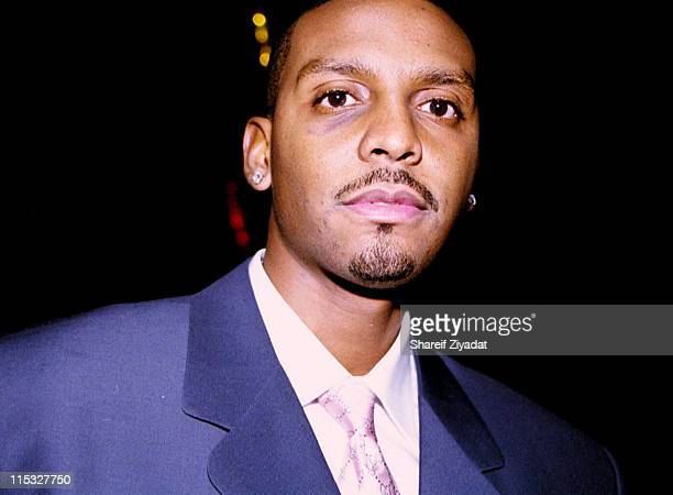Penny Hardaway during Celebrities Party at Club 'Show' at Club Show in New York City New York United States