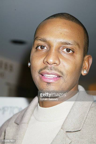 Penny Hardaway during party for the March issue of Gotham Magazine at The Kreiss Showroom in New York New York United States