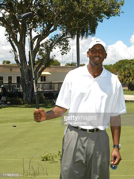 Penny Hardaway during The EGA Citizen Change Present The EGA Celebrity Golf Tournament at Miami Beach Golf Club in Miami Florida United States