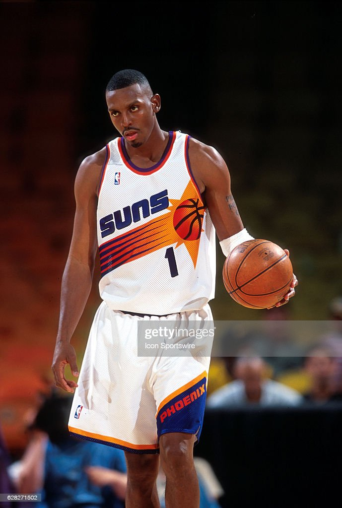 finest selection 76398 73ff4 Penny Hardaway of the Phoenix Suns in action during the Suns ...