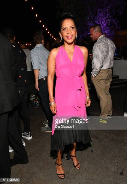 Penny Johnson Jerald at Entertainment Weekly's annual Comic-Con party in celebration of Comic-Con 2017 at Float at Hard Rock Hotel San Diego on July...
