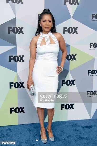 Penny Johnson Jerald attends the 2018 Fox Network Upfront at Wollman Rink, Central Park on May 14, 2018 in New York City.